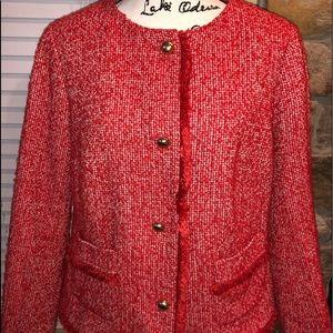 Talbot's Petite Women's Tweed Blazer